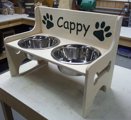 Cappy Dog Bowl